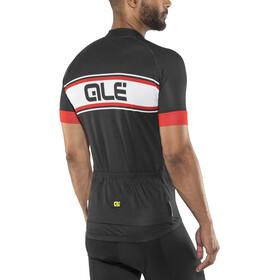 Alé Cycling Solid Vetta Shortsleeve Jersey Herren black-red